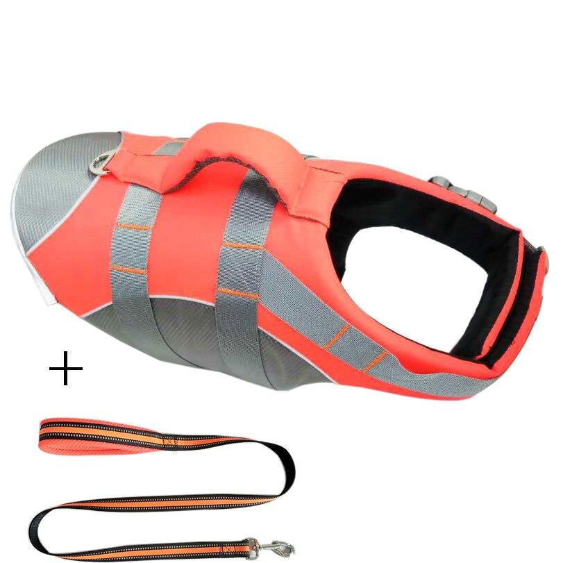 Pet  Life Jacket Safety Clothing Lifetime Vest Neck Harness Saver Pet Dog Swimming Retention Clothing Summer Bathing Fashion