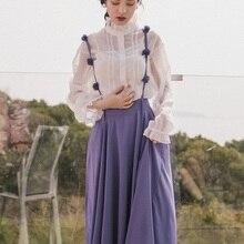 Ubei французский винтажный комплект с юбкой белая рубашка Изящные комплекты из двух предметов костюмы для женщин Мода