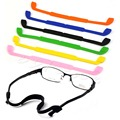 Hot Silicone Eyeglasses Straps Glasses Sunglasses Sports Band Cord Holder New hot