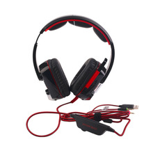 High Quality Stereo Gaming Headset PC With Mic Over Ear Headphones With Volume Control