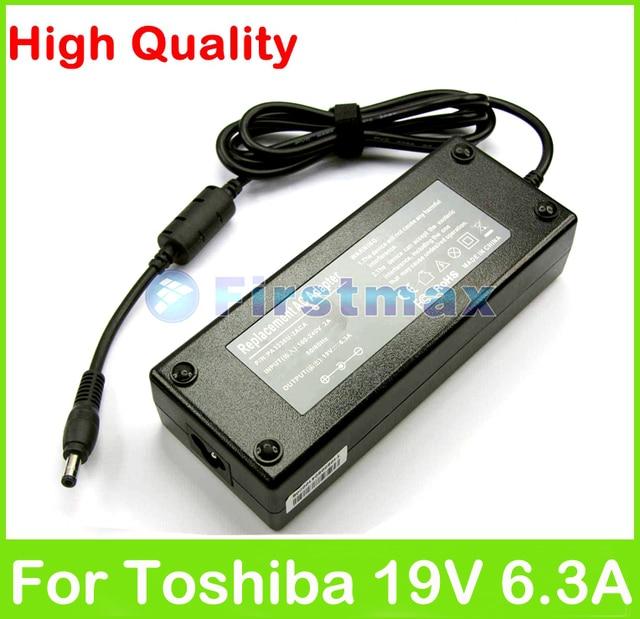 19 В dip-6.3a 120 Вт AC ноутбук адаптер питания для Toshiba Satellite P300 P305D P35 P500 P505D р70 P75 P770D P775 зарядное устройство