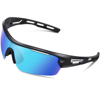 TOREGE 2017 Polarized Outdoor Sports Sunglasses 4 Lenes For Men Women Cycling Running Driving Fishing Golf