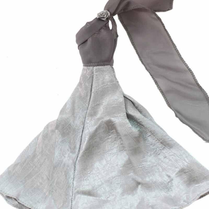 Новейшая элегантная летняя одежда Платья для 11 дюймов 28 см-30 см куклы ручной работы свадебное Кукольное платье принцессы вечерние платья