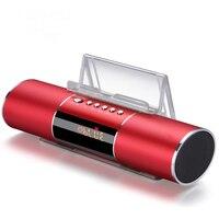 Modern Digital Clocks FM Radio Bluetooth Speaker Portable Electronic Clocks Snooze Sleep Function Alarm Clock
