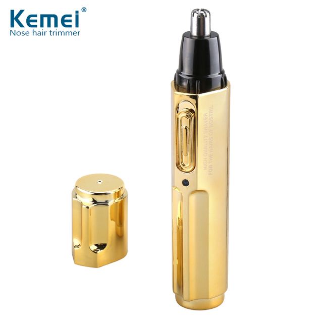 KM-6616 Fashion Electric Shaving Nose Hair Trimmer Safe Face Care Shaving Trimmer For Nose Trimer for Men and Woman
