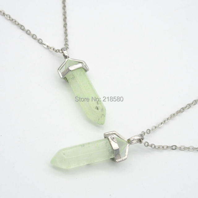 N15052211 crystal point pendant ice citrin e point pendant necklace n15052211 crystal point pendant ice citrin e point pendant necklace 18inch chain aloadofball Image collections