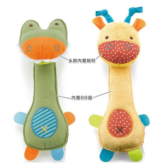Regalo para niños 1 unid 22 cm cocodrilo creativo Deer mono BB mano ...