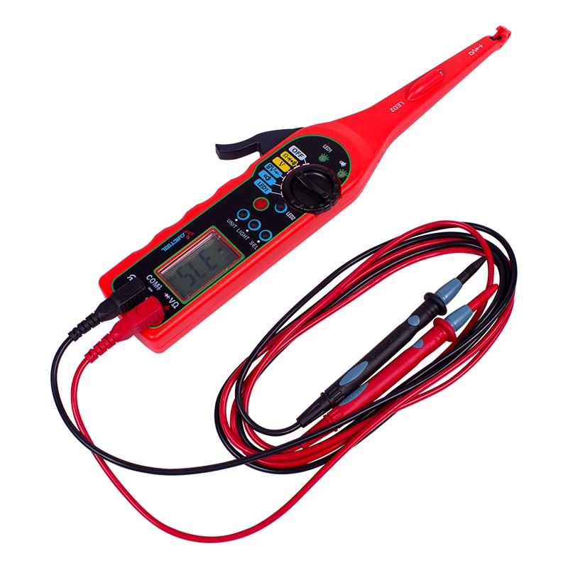 купить MS8211 Power Electric Multi-function Auto Circuit Tester Automotive Electrical Multimeter Lamp Car Repair car detector по цене 1631.26 рублей