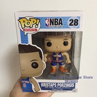 Official Funko Pop NBA Super Star Basketball Player Kristaps Porzingis Vinyl Action Figure Collectible Model Toy