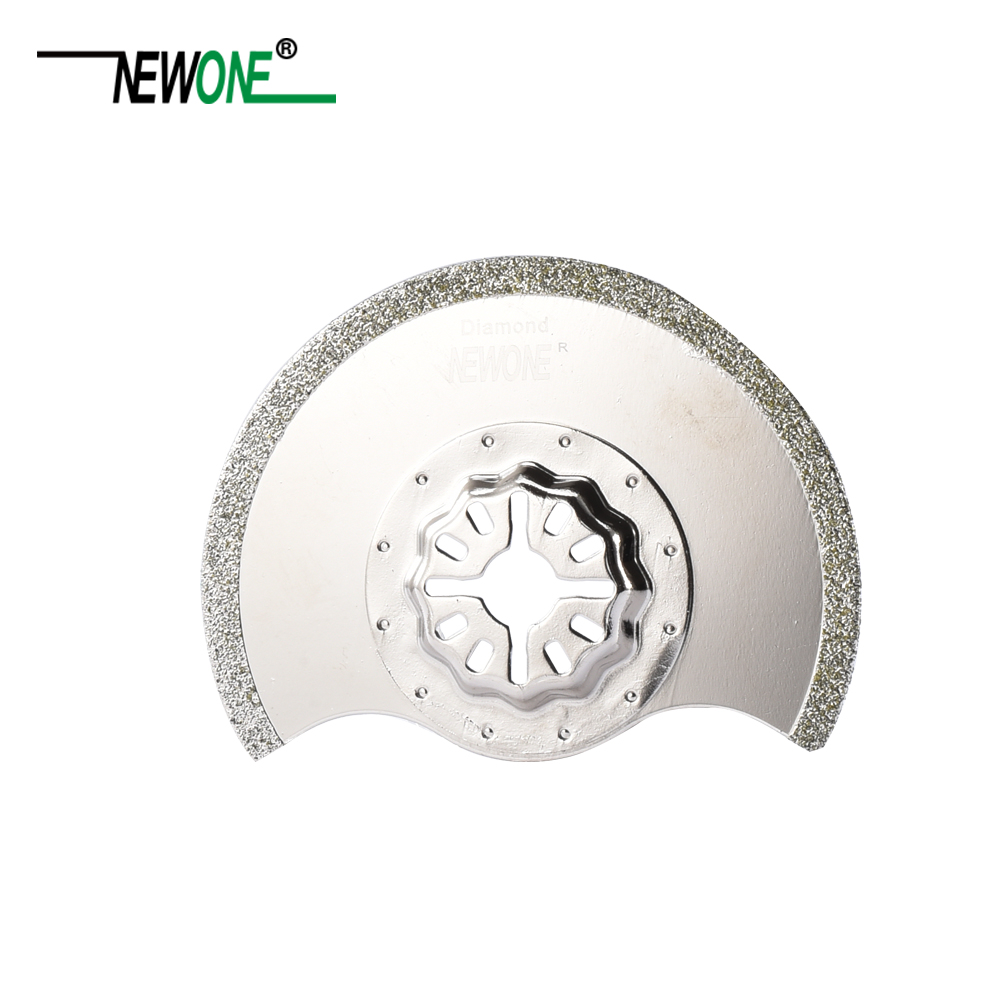 Image 3 - STARLOCK Type One piece NEWONE E cut Circular Carbide and Diamond Oscillating Multi Tool Saw Blades Triangle Rasp-in Saw Blades from Tools