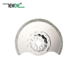Image 3 - STARLOCK Type One piece NEWONE E cut Circular Carbide and Diamond Oscillating Multi Tool Saw Blades Triangle Rasp