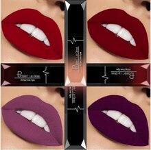 21 Color Liquid Lipstick Waterproof Mate Red Lip Long Lasting Makeup Metallic Gloss Make Up Nude Lip Stick Matte Lipstick
