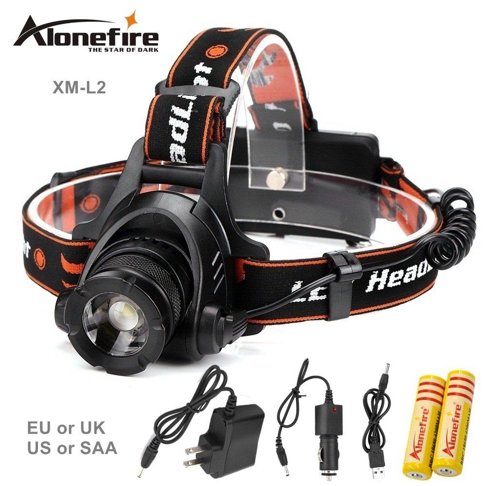 7dba5d335b AloneFire HP78 2500Lumen CREE XM-L2 LED Headlight Light Headlamp Flashlight  Head Lamp