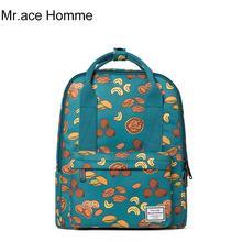 Бренд рюкзак высокое качество Водонепроницаемый Для женщин Мода Портативный путешествия Рюкзаки новый летний Обувь для девочек мультфильм шаблон милый Школьные сумки