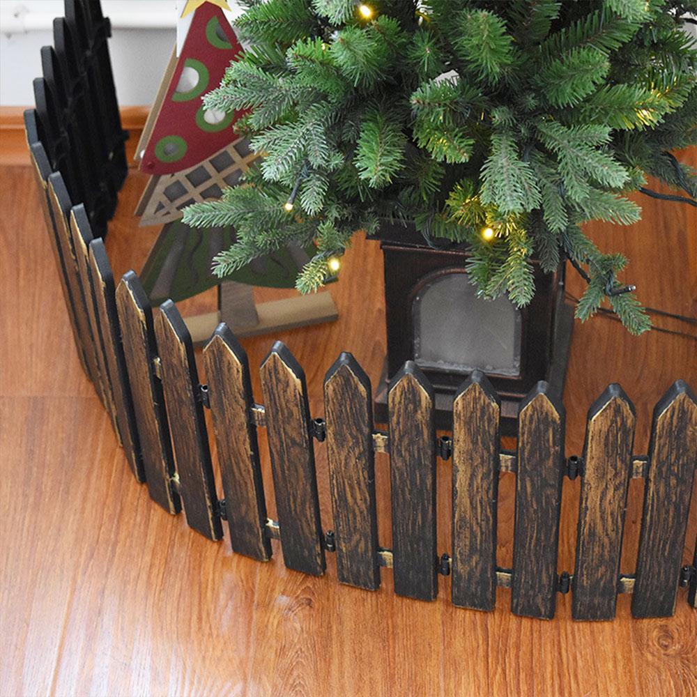 Plastic Fence 1 Pcs Gardening Fashion Christmas Decorative