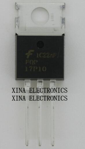 In QualitäT WunderschöNen Fqp17p10 17p10 Pnp 17a 100 V To-220 Rohs Original 10 Teile/los Kostenloser Versand Electronics Zusammensetzung Kit üBerlegene