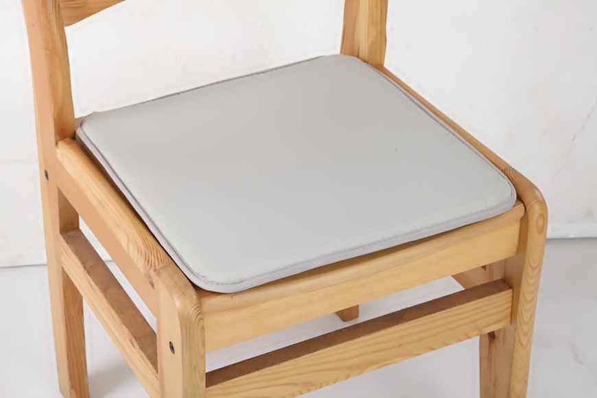 Новинка 2019, домашний декор для сада, мягкая хлопковая однотонная подушка для офисного кресла, внутренний обеденный коврик для патио, горячий галстук на квадратной Пене