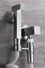 Free shipping Brass Toilet Hand Held Bidet Shower Spray Gun/Women Bidet Faucet Shattaf Shower Set Wall Mounted BD061