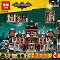 1628 Unids Lepin 07055 Genuino Batman Arkham Asylum Movie Marvel Super Heroes Bloques de Construcción de Ladrillos de Juguetes para los niños Superhéroes