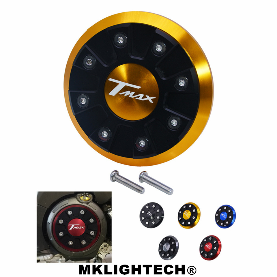 MKLIGHTECH For YAMAHA TMAX 530 500 Motorcycle T MAX 500 2012 2016 CNC Engine Stator Cover Guard T max 530 2012 2015 in Covers Ornamental Mouldings from Automobiles Motorcycles