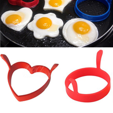 Egg-Shaper Egg-Mold Cake-Tools Kitchen-Gadgets Fried Omelette Silicone 1pc Creative