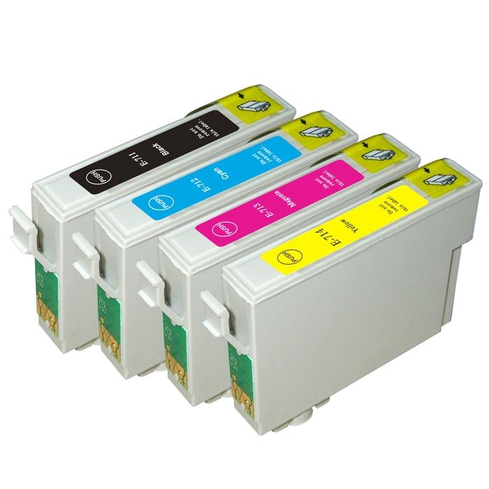 T0711-T0714 Tintenpatrone für Epson DX4000 DX4050 für DX4400 DX4450 DX5000 SX100 SX200...