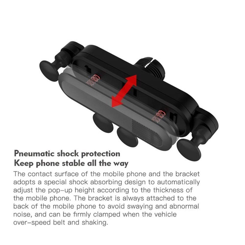 Vehemo автомобильный вентиляционный многоцветный Автомобильный держатель для телефона gps Держатель HUD дизайн универсальные, для салона автомобиля автомобильный держатель