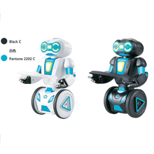 H702  KIB Robot Intelligent Balance RC Robot Wheelbarrow Dancing Drive Box Gesture Battle Action Electric Toy Gift