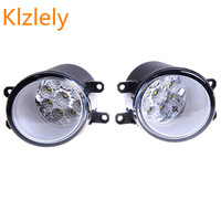 3000 10000K Lights DRL LED For TOYOTA CAMRY Saloon XV4 2007 2011 Fog Lamps White Yellow