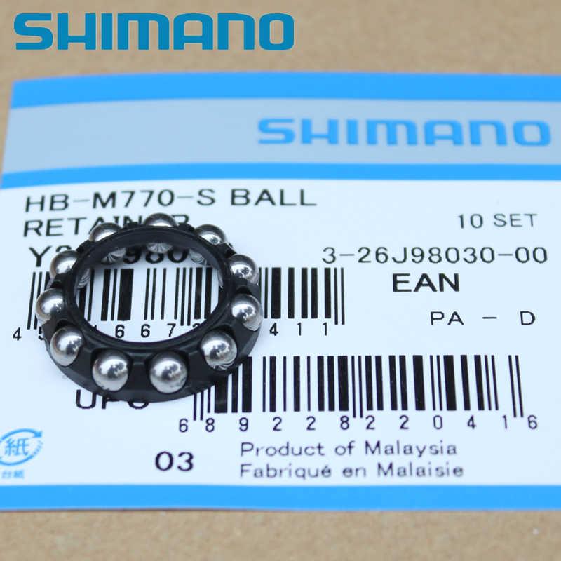 Shimano XT conjunto Roda peças Retentor de Esferas WH-M770 M775 M785 M8000 WH-6800 RS81 Esfera de Aço Da Roda