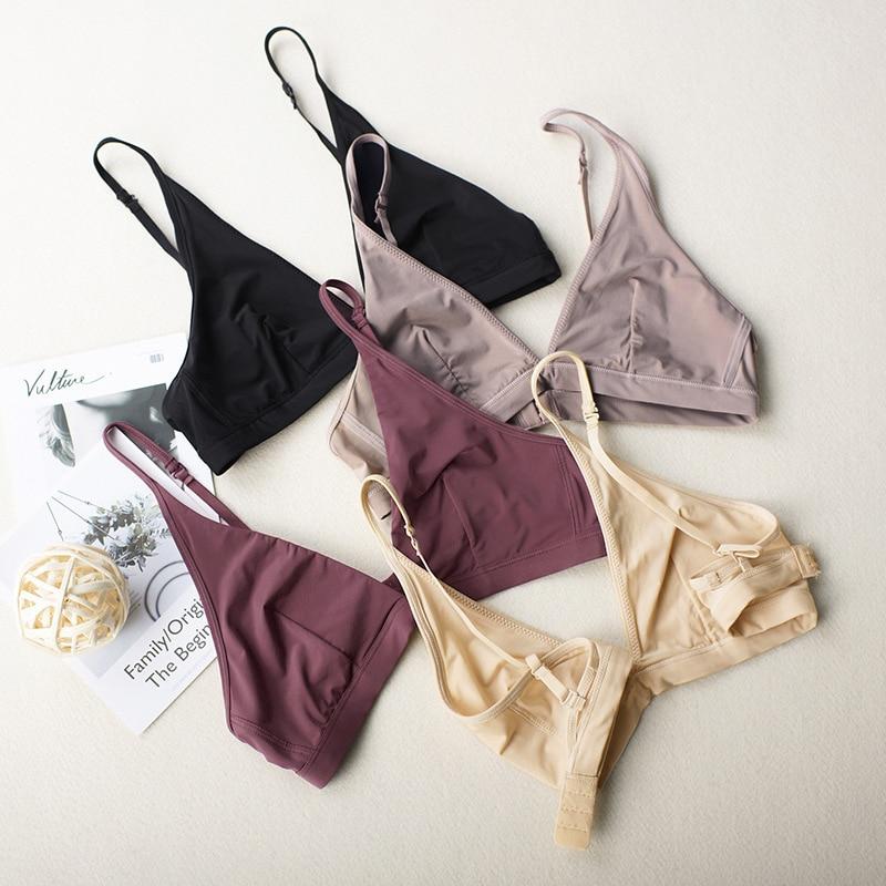 2019 sujetadores para mujer Sexy Bralette Push Up Bra mujer Lencería Brallete Fitness Tops sujetador ropa interior femenina