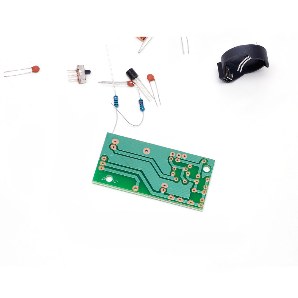 1 Pc Simple Fm Wireless Microphone Parts Electronic Training Diy Kit New Circuit