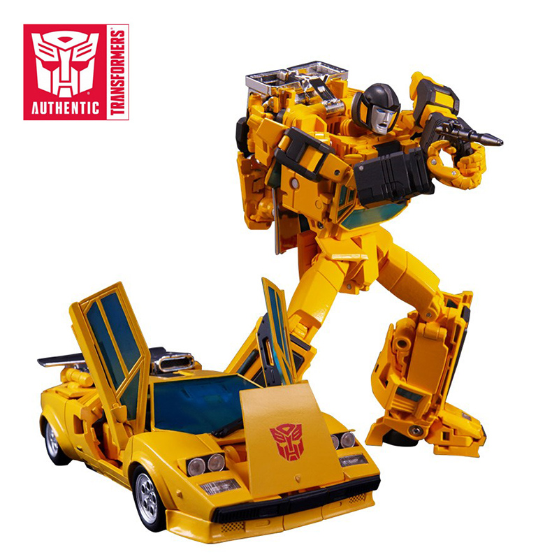 Transformers MP39 Sunstreaker MasterPiece Series Action Figure Collection Robot Toys Christmas Gift Toys For Children Bumblebee 2018 27cm transformers toys titan changers morpho titans bumblebee optimus prime shatter action figures collection model doll