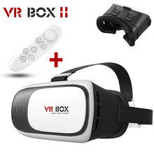 2016 VR BOX II 3D Glasses VRBOX Upgraded Version Virtual Reality 3D Video Glasses + Bluetooth Remote for 3.5″ – 6.0″ Smart Phone