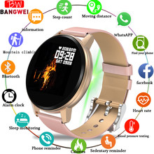 Smart Watch Women IP67 Waterproof Fitness Tracker Heart rate blood Pressure Monitor Pedometer Smart Sport Watch For Android ios(China)