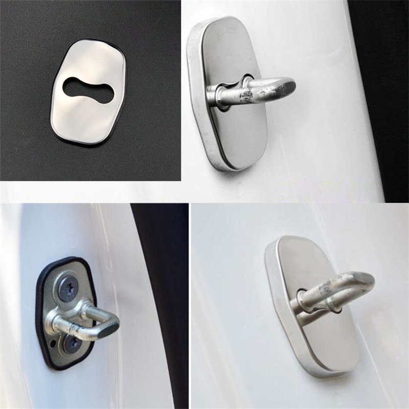 Car Door Lock Anti Rust Protection Cover For Citroen C5 C6 C4 C4L C4 Picasso Elysee C5 AIRCROSS C3-XR DS3 DS4 DS5 DS6