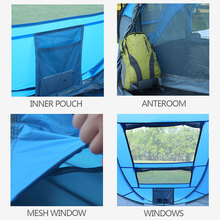 Hiking and Fishing Tent for 3 People