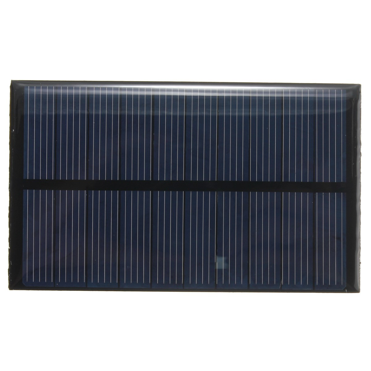 5V 1W 200mAh Polycrystalline Silicon Energy Universal Solar Panel Module System Solar Cells Battery Batteries for Phones Charger