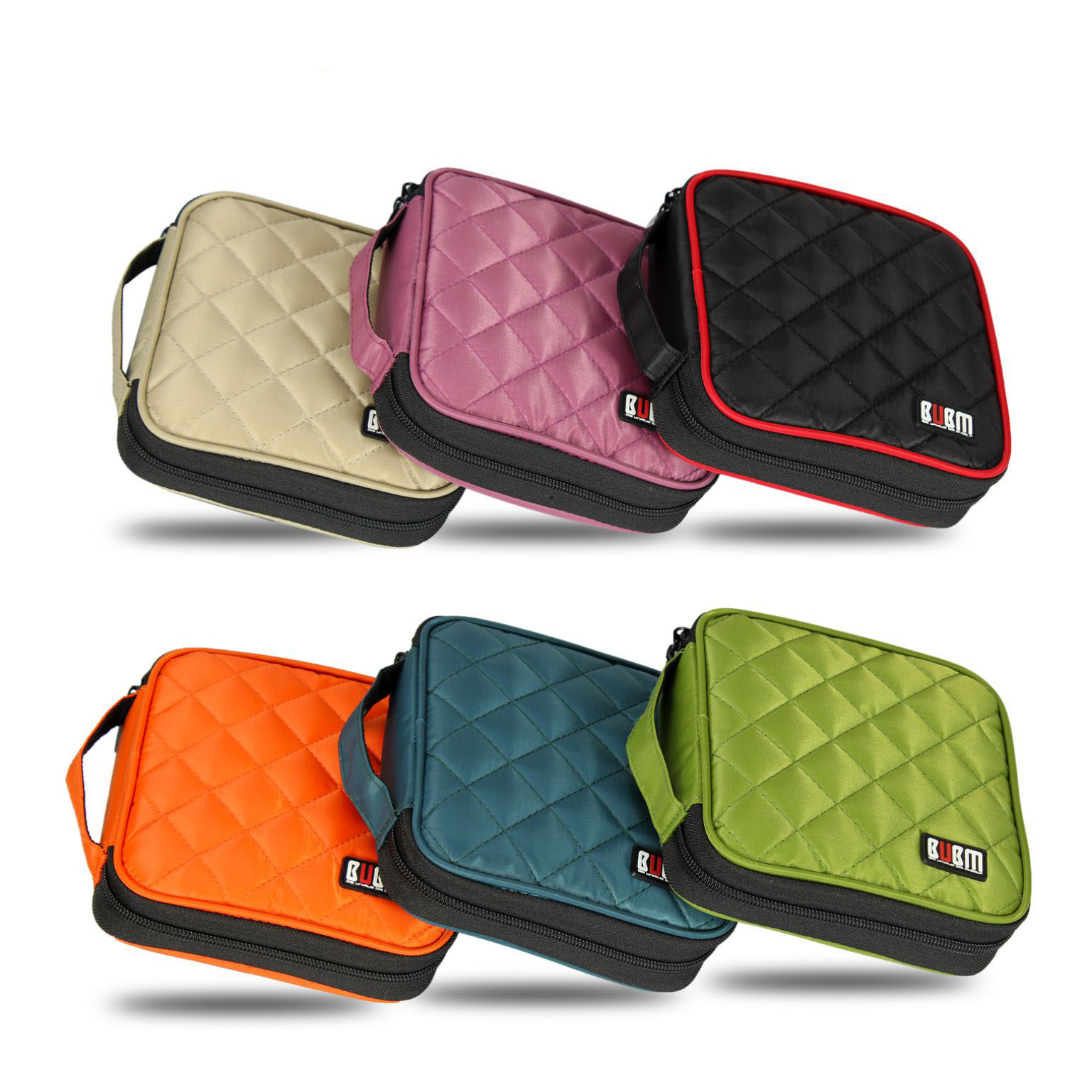 BUBM CD VCD Professional 32 Disc Capacity Car House CD / DVD Wallet Twill Cover Protect Storage Carry Bag ...
