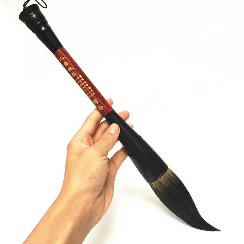 лучшая цена Chinese Calligraphy Brush Pen Large Bucket Pen Couplet Hopper-shaped Brush Chinese Traditional Writing Painting Brush Supplies