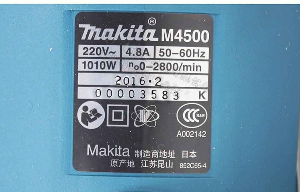 Neue Japan Makita M4500B Elektro stichsäge Speed Regulierung Holz Metall Schneiden Maschine 2800/min 28 mm Saber Saw - 2