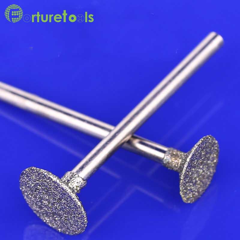 50st diamantmonterade punkt dremel roterande verktygsmonterade hjul - Slipande verktyg - Foto 3