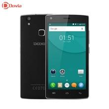 Doogee X5 Max MTK6580 Android 6.0 Quad Core отпечатков пальцев, смарт-телефон 5.0 дюйма HD 1280*720 1 ГБ Оперативная память 8 ГБ Встроенная память 8MP Камера мобильного телефона