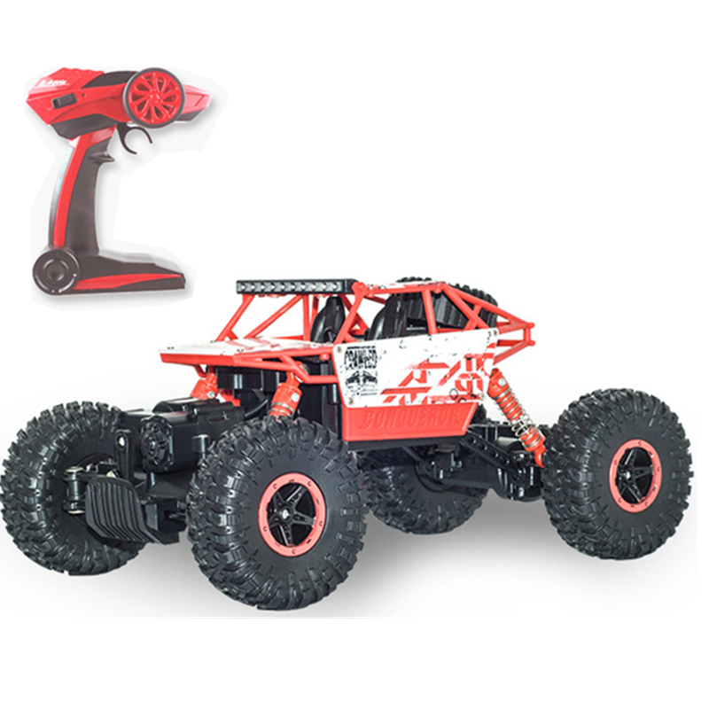 New 2.4GHz RC Car 4WD Rock Crawlers Rally Climbing Car 4x4 Double Motors Bigfoot Car Remote Control Model Off-Road Vehicle Toy 3 rally car with a key to open the door automatically shoupeng simulation remote control car remote control cars rc car rc toy