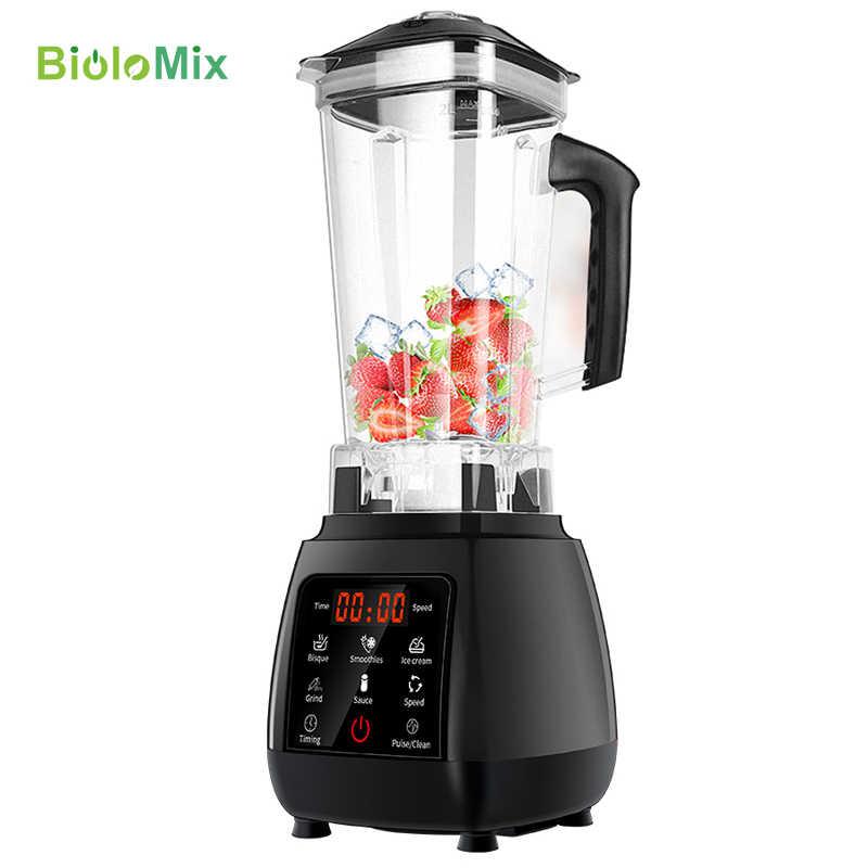 2200 w bpa livre digital touchscreen automático 2l profissional misturador liquidificador juicer processador de alimentos alta potência smoothies gelo frutas
