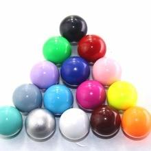 5 шт./лот 16 мм колокольчик мяч подходит для медальона клетка музыкальный звук Красочные Гармония мяч беременный Подарок Звук шарики с колокольчиками ювелирные изделия