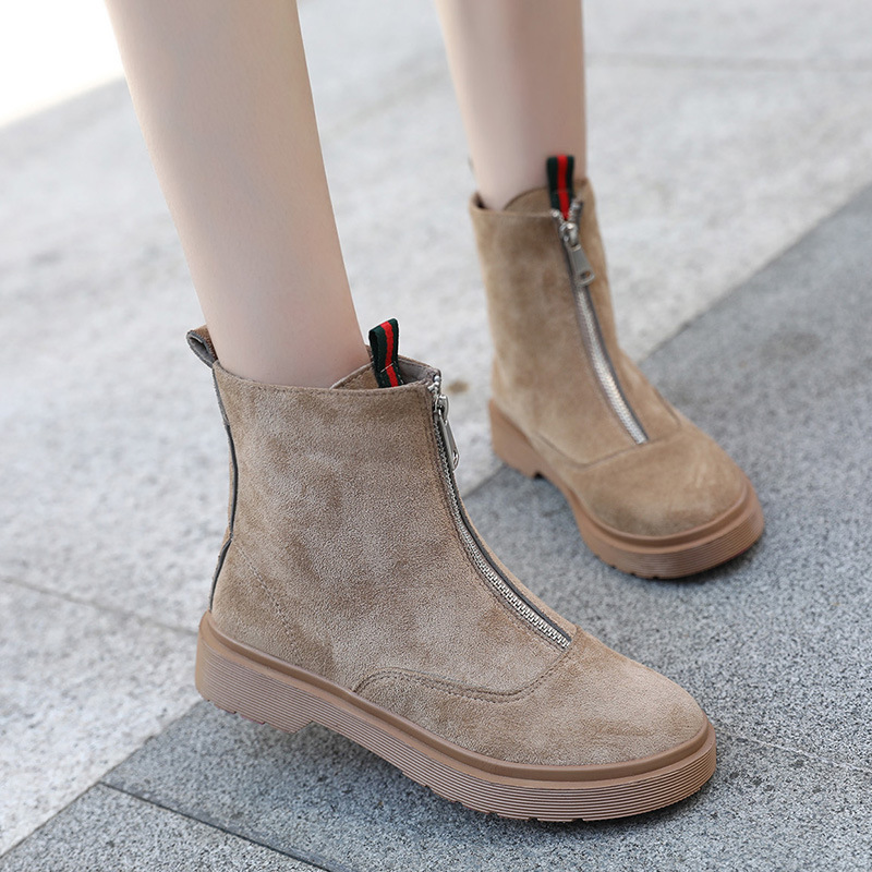 Autumn winter ladies shoes fashion sexy ankle boots for women vintage suede leather platform martin boots female botas mujer platform boots autumn ankle boots for women luxury sexy martin boots botas femininas de inverno botines mujer 2017 ladies shoes href
