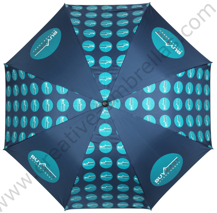 Free shipping by sea,private customized advertising promotion outdoor present parasol House property estate gift golf umbrella