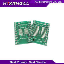 10PCS TSSOP20 SSOP20 SOP20 to DIP20 Transfer Board DIP Pin Board Pitch Adapter  igmopnrq
