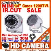 Sale Mini Surveillance 1 3cmos 800 1200TVL LED Security Infrared 30m Color Ahdl CCTV Camera Outdoor